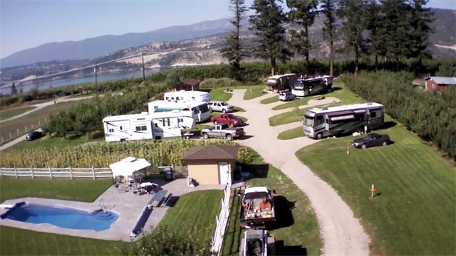 Leys RV Park Site View